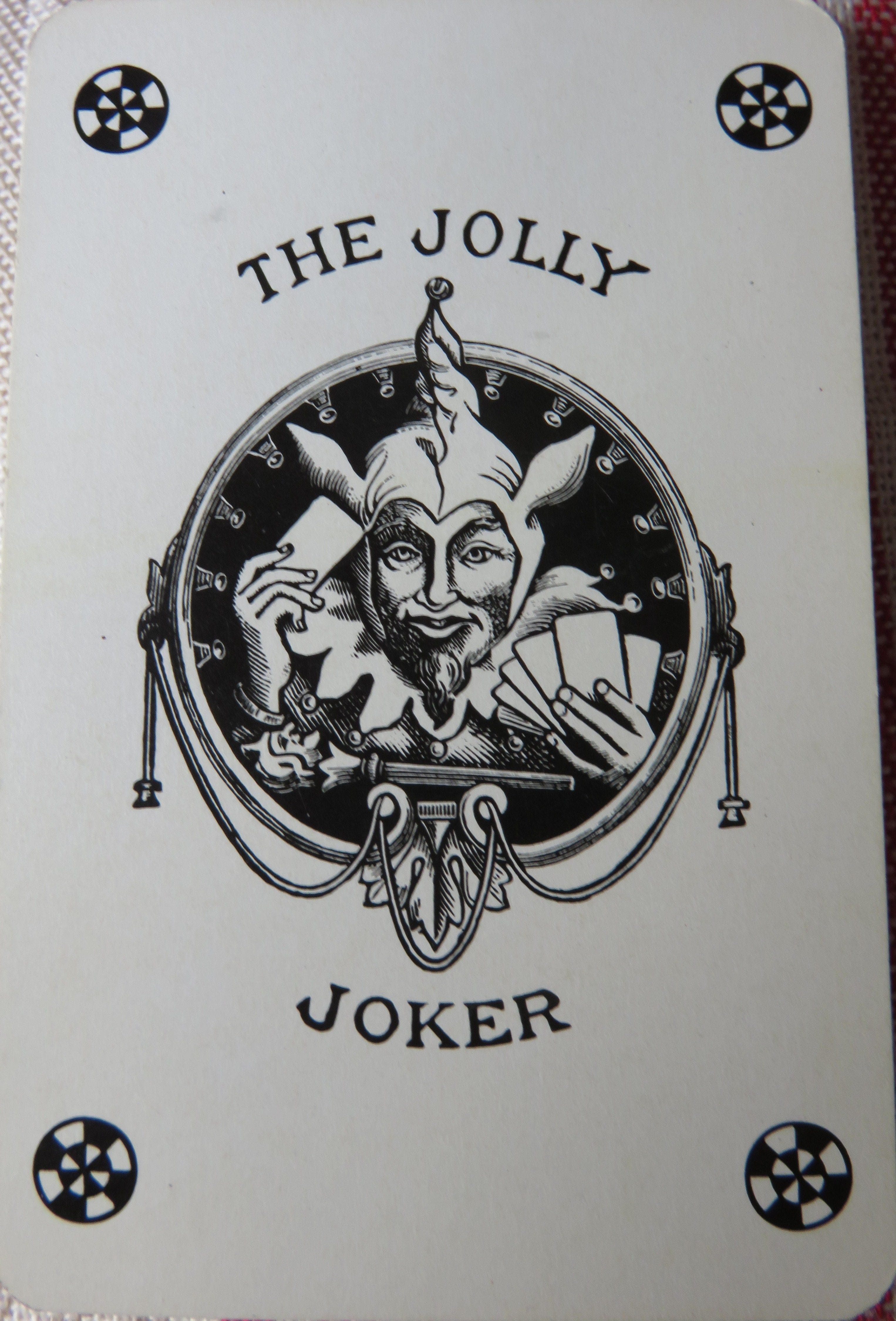 The jolly joker . Grimaud