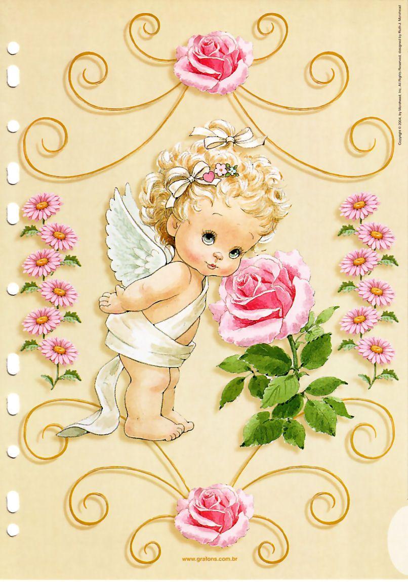 Ангелочек открытки, сыну днем