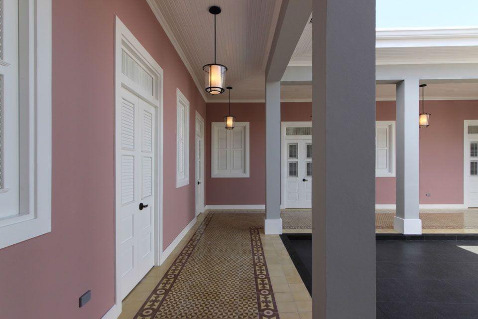 Hallway View Of Casa Grande In Mayaguez Puerto Rico Design By