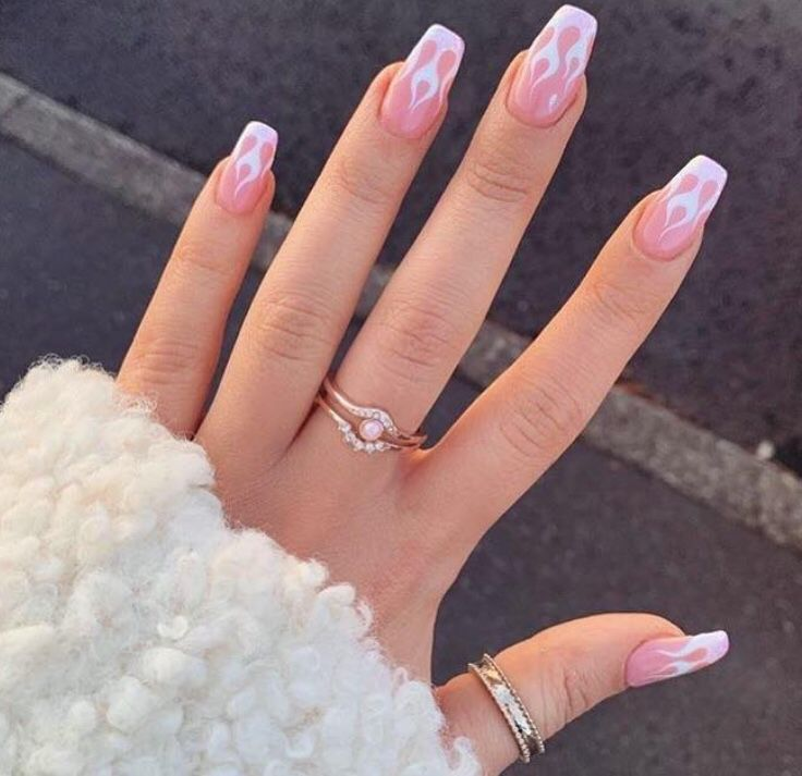 Pin By Prisha Thayalan On Nails With Images Pink Acrylic Nails Pink Nails Best Acrylic Nails