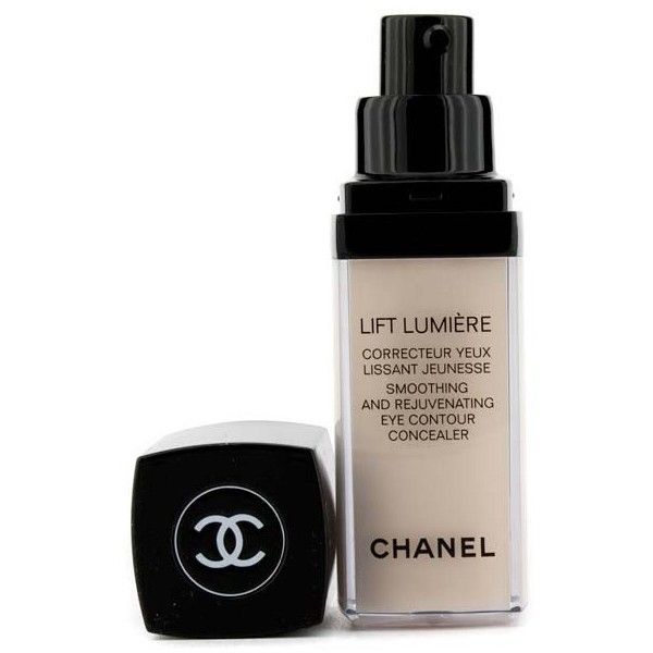 CHANEL Lift Lumiere Smoothing & Rejuvenating Eye Contour Concealer -... found on Polyvore