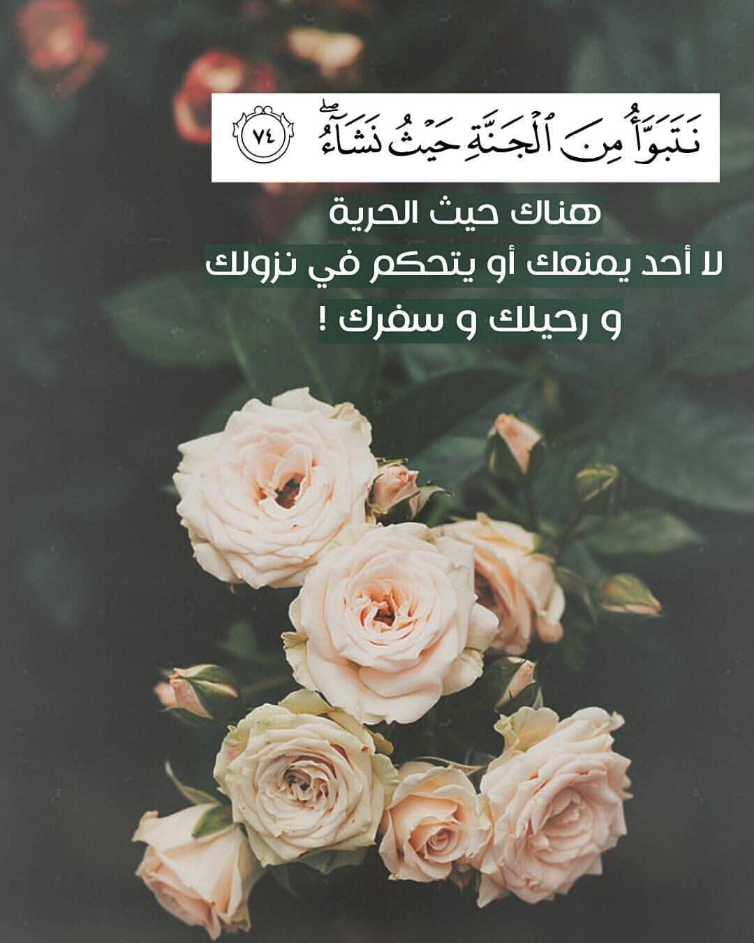 نتبوأ من الجنة حيث نشاء هناك حيث الحرية لا أحد يمنعك أو يتحكم في نزولك ورحيلك وسفرك Holy Quran Traveling By Yourself Quran