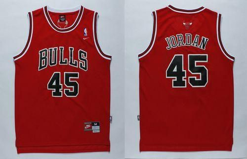 150d60271df987 chicago bulls jerseys for sale cheap nba jerseys china authentic nba  jerseys. Bulls  45 Jordan Stitched Red ...