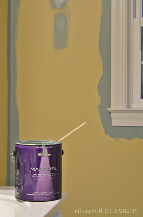 BEHR Marquee for one coat coverage /athomewiththebarkers.com