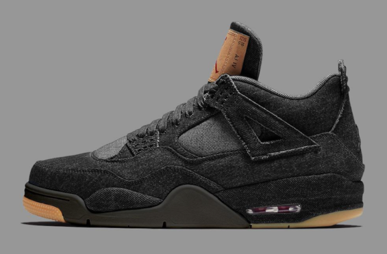 625679ef308090 Could The Levi s x Air Jordan 4 Black Denim End Up Looking Like This  No
