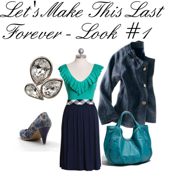 Let's Make It Last Forever - Look 1, created by pumpsandgloss on Polyvore