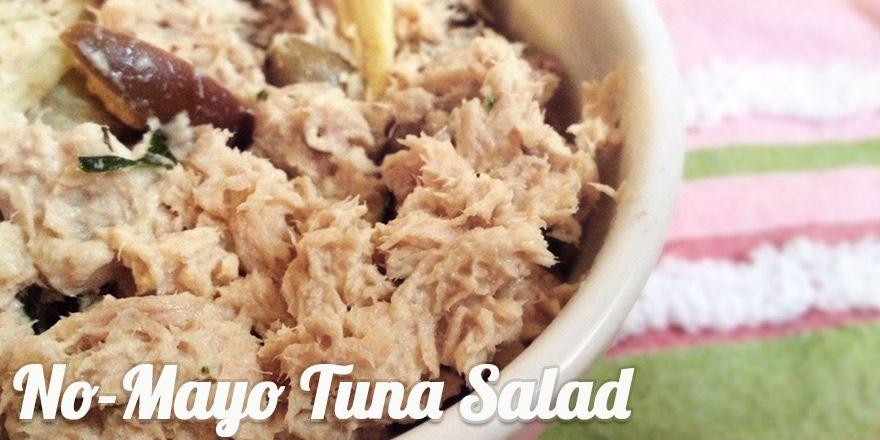 Featured Recipe: No-Mayo Tuna Salad