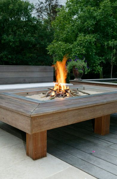 firepit fire pits pinterest brasero jardins et maison. Black Bedroom Furniture Sets. Home Design Ideas