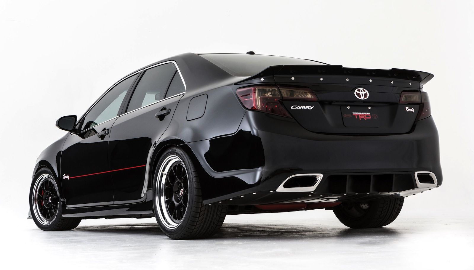Toyota camry rowdy edition would have been a lot better with the isf