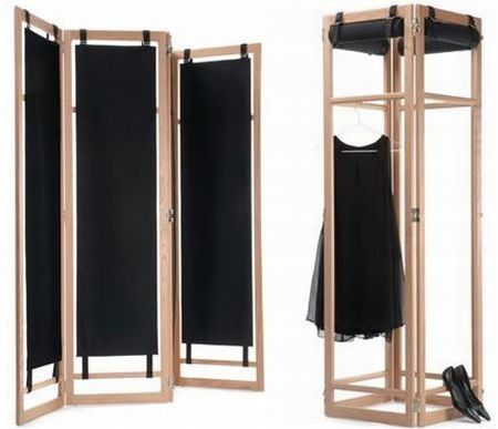 Biombo tela biombo en madera y tela biombos pinterest - Biombos de madera ...
