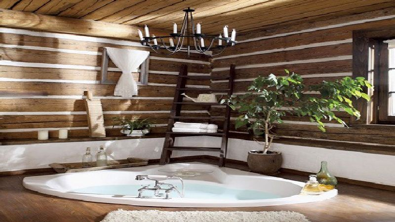 La tendance d co pour la salle de bain est au bois clair for Salle de bain tendance 2016