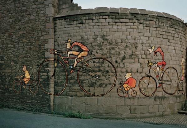 street art bristol so design consultant birmingham ambient marketing orange UK painting paint 6