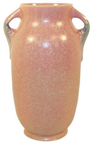 Roseville Pottery Tuscany Pink Vase 349-12