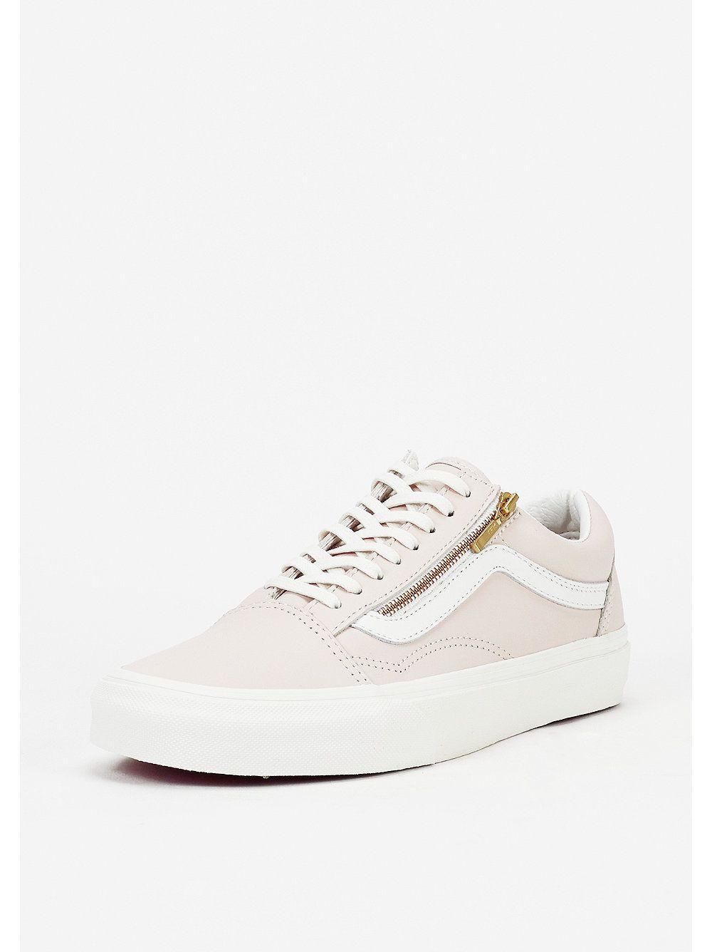 VANS Schuh Old Skool Zip whispering pinkblanc de blanc
