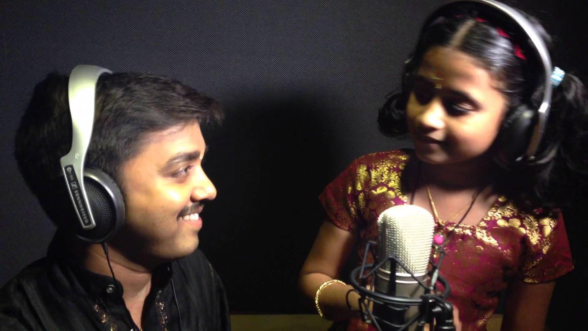 Ganesha Pancharathnam sung by 9 year old Sooryagayathri and
