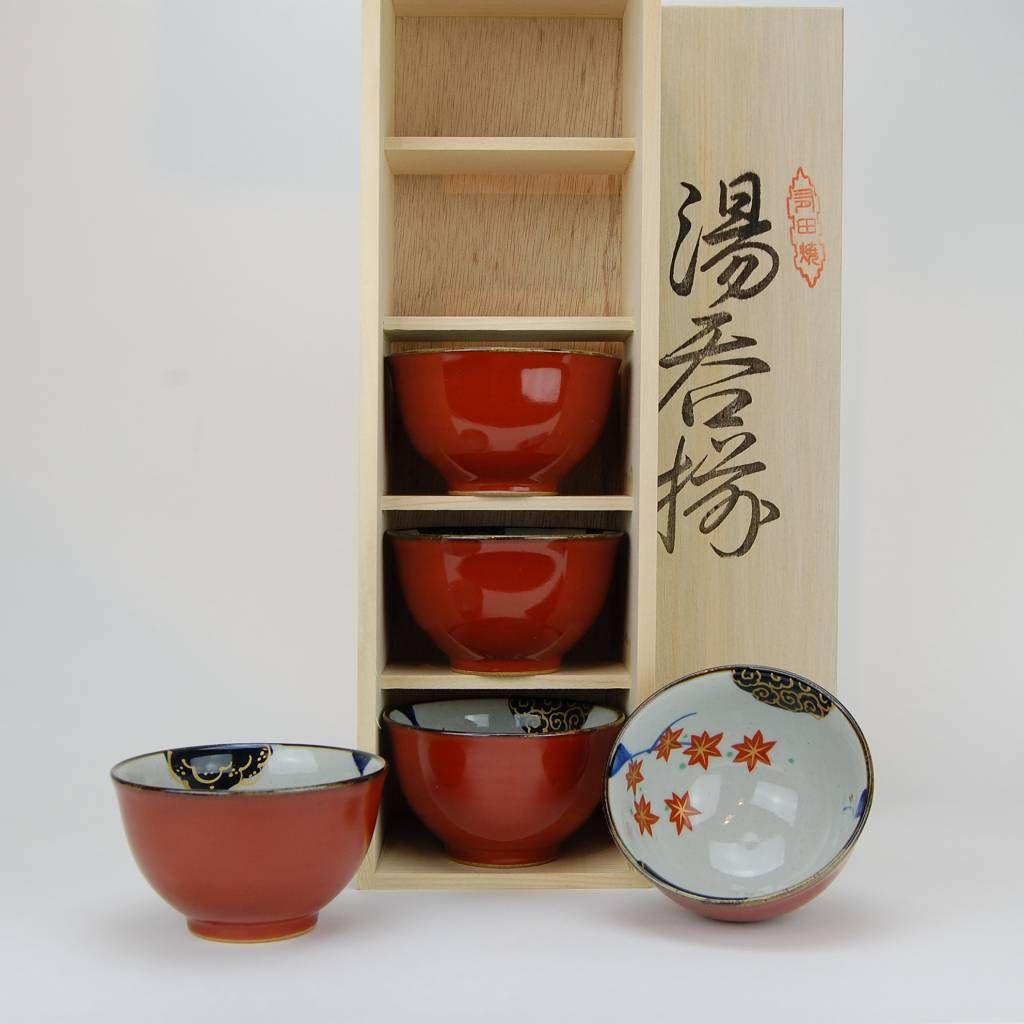 Japanese porcelain tea cups