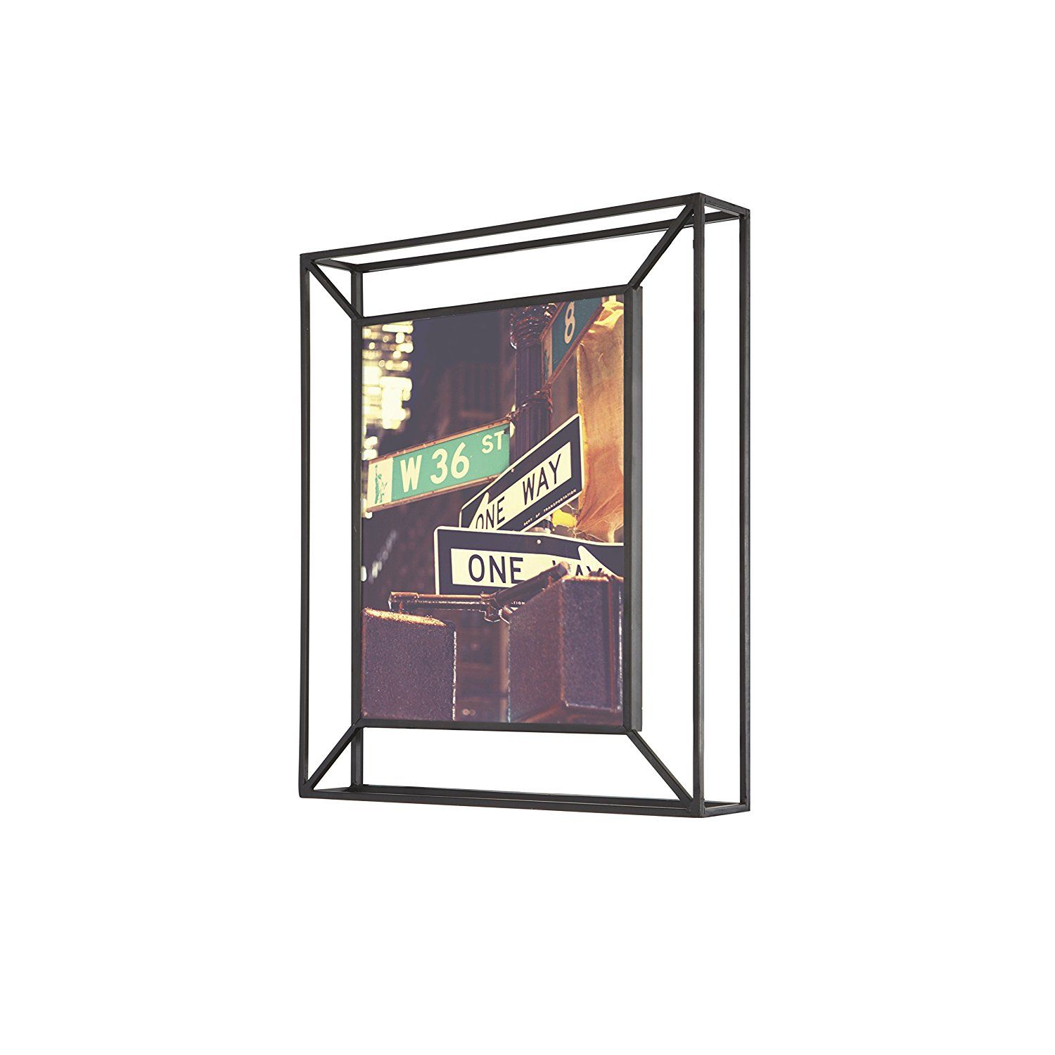 Amazon Com Umbra Matrix Metal Picture Frame 8 By 10 Inch Black Picture Frame Wall Metal Picture Frames Umbra