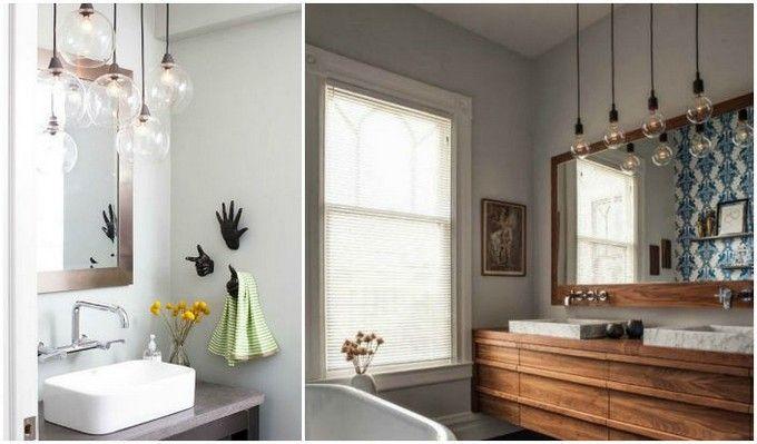 Image Result For Pendant Lighting Bathroom