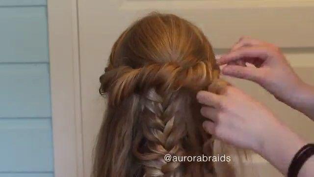 Makegirlz On Instagram Beauty Hairstyle By Aurorabraids تسريحة بسيطة وعجيبه شنو تحبون يكون الفيديو القادم مر Long Hair Styles Hair Styles Beauty
