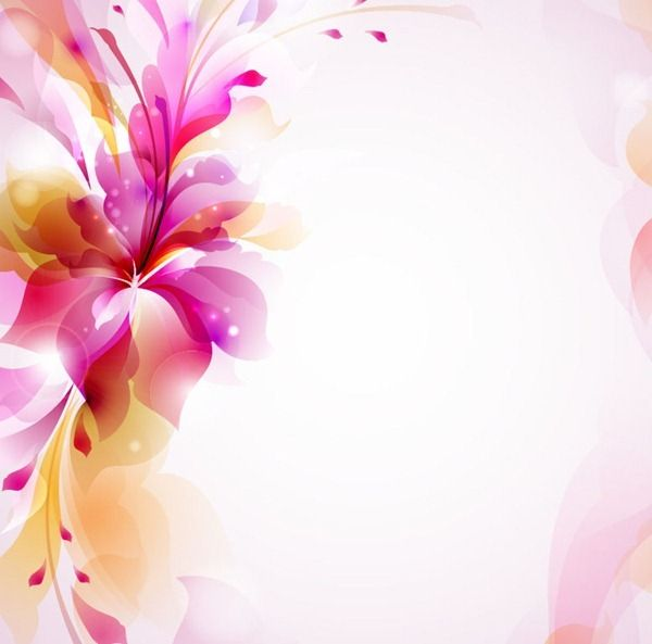 Colorful Design Floral Vector