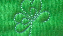 The Irish Chain--A Lucky Free Motion Quilt Tutorial