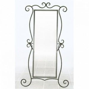 Your Cheval Iron Standing Mirror By Corsican Here This Hand Forged Has A Clic Style And Timeless Eal