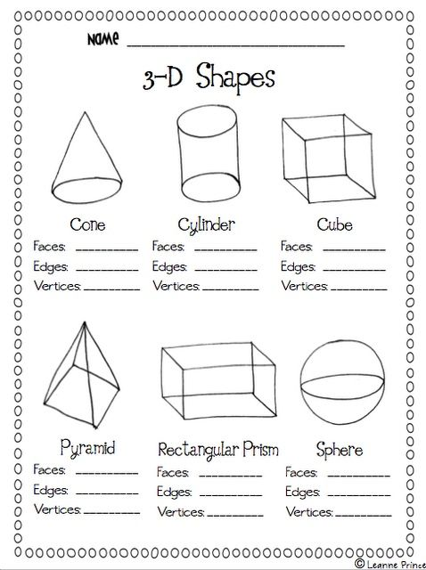 Worksheets Faces Edges Vertices Worksheet faces and edges worksheet pictures to pin on pinterest pinsdaddy worksheets