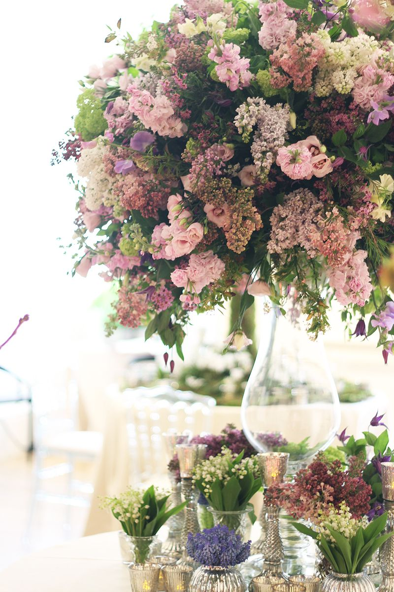 Stunning Large Floral Wedding Centrepiece