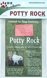 Leave No Stone Make That Potty Rock Unturned Dog Potty