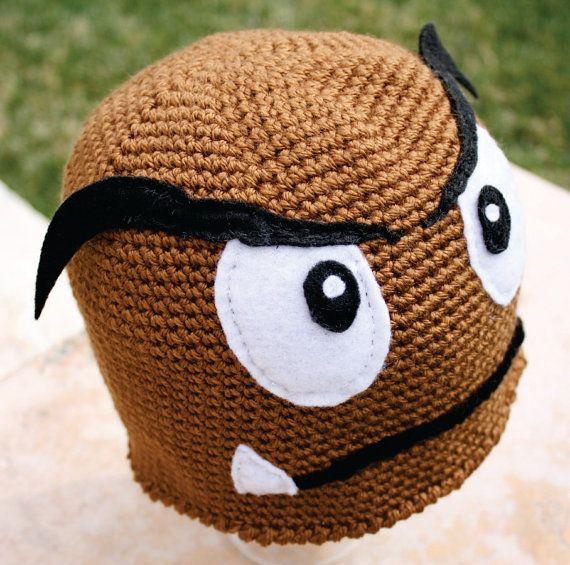 Goomba Inspired Super Mario Bros Shiitake Mushroom Hat Nintendo