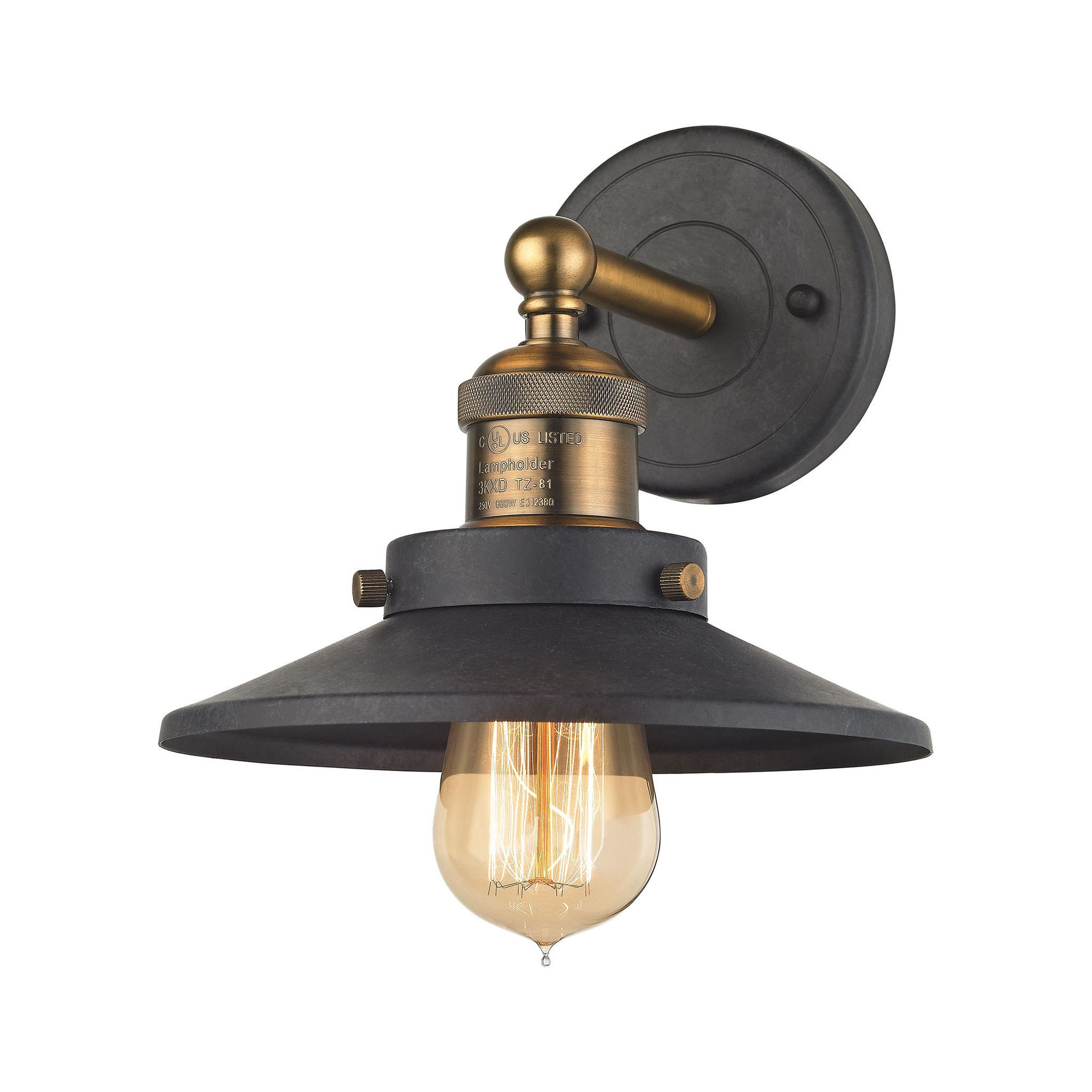 aged glass hudson shown bathroom cfm wide sconce in agb image finish lighting capitol brass valley magnifying wentworth item inch wall
