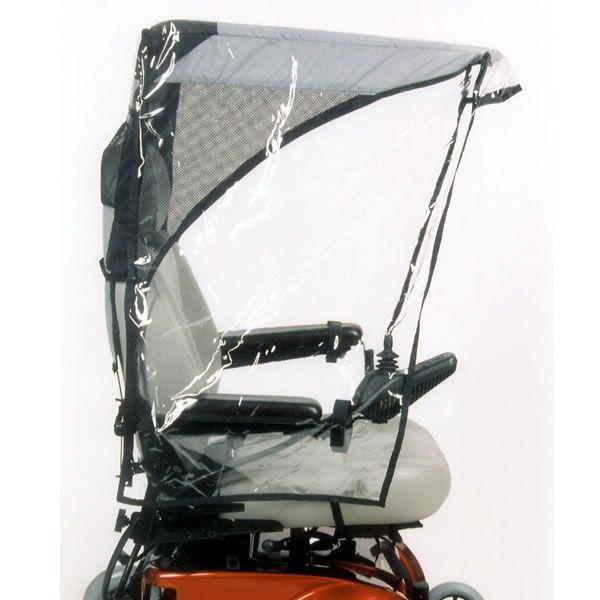 Weatherbreaker Canopy Max Protection Wheelchair