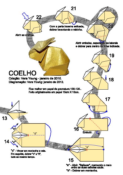 3d origami animals instructions