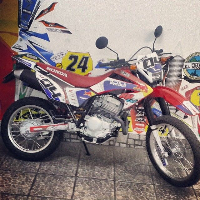 dise o motos honda xr calcos stikers ploteo vinilo