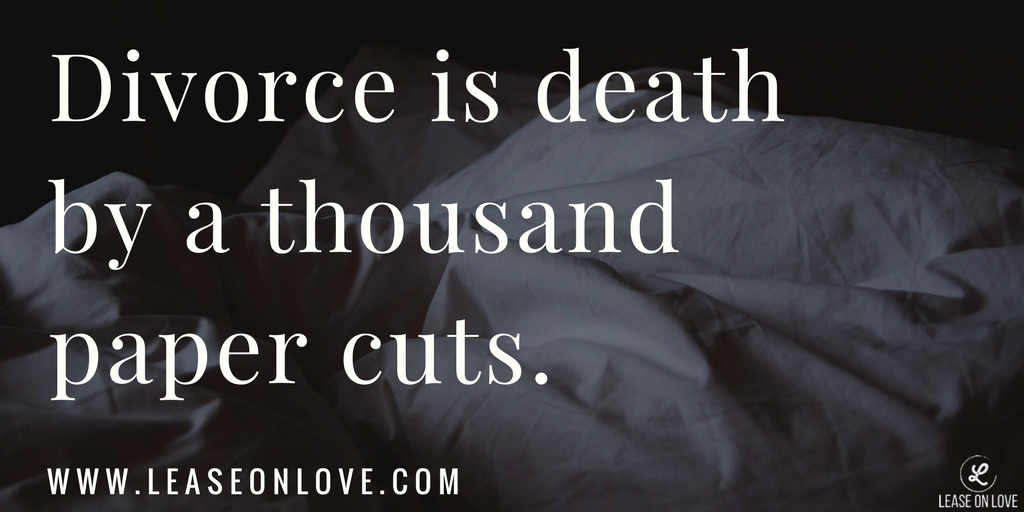 Relationship death thousand cuts