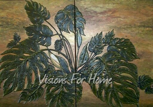 Painted by Janice Huber - Visions For Home.  Contact me at visionsforhome@yahoo.com