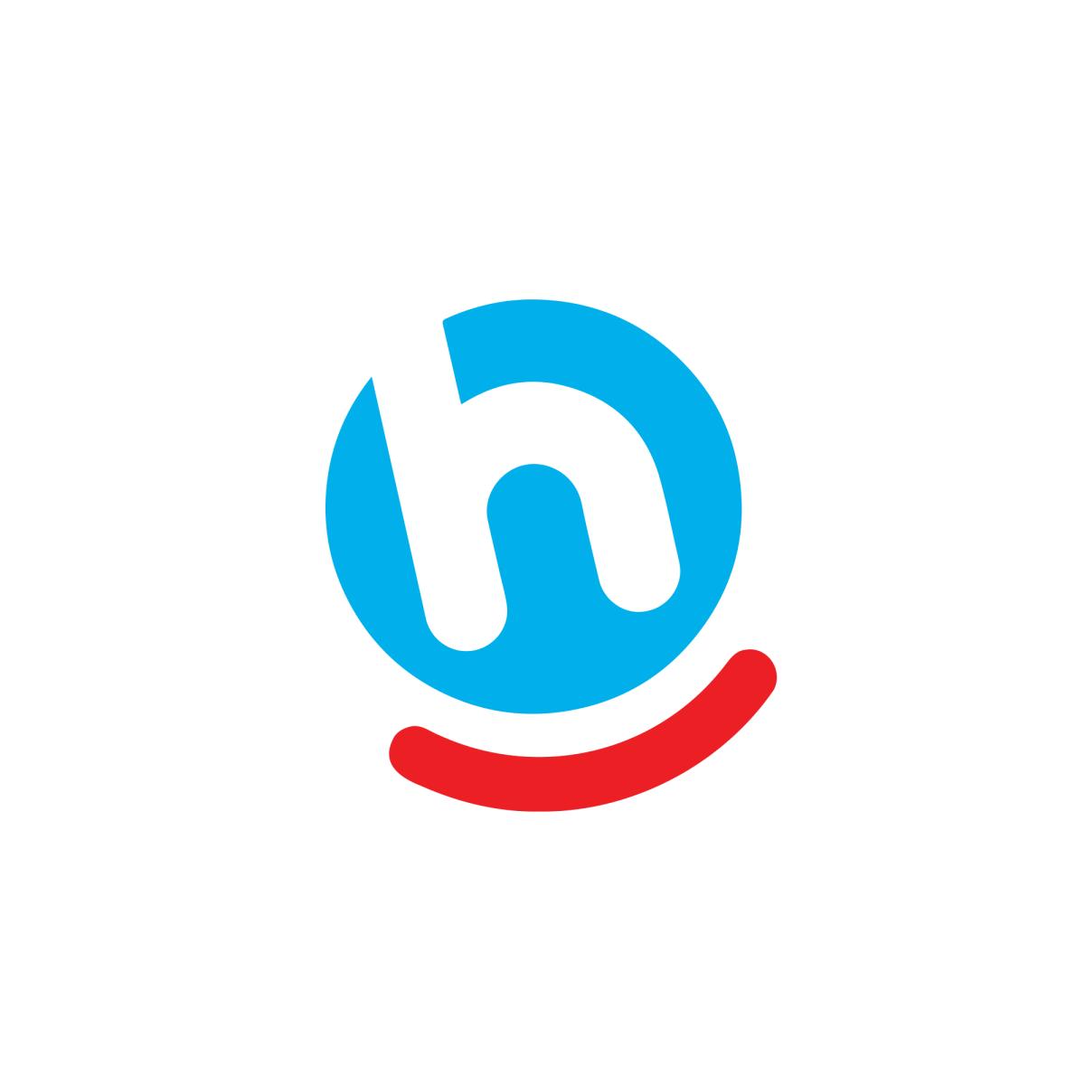 Hoogvliet Logo Netherlands H Logos Letter Logo Smile Logo