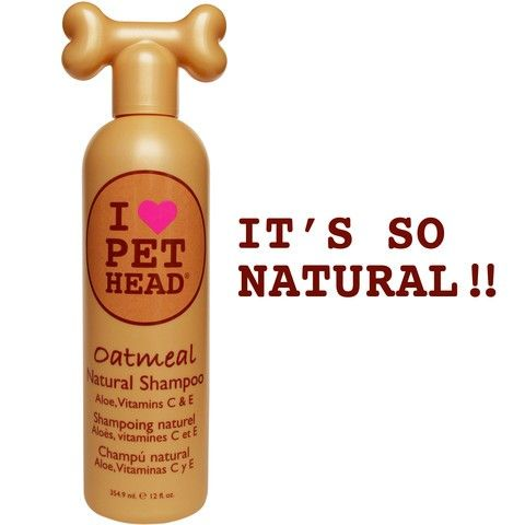 Pet Head Oatmeal Natural Shampoo 12oz Ph10117 Natural Dog Shampoo Dog Shampoo Natural Shampoo