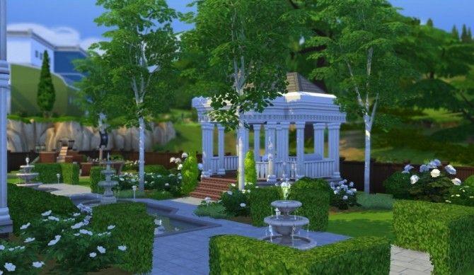 Oakenwood Plantation at Simsational Designs บ้าน 1 Pinterest Sims