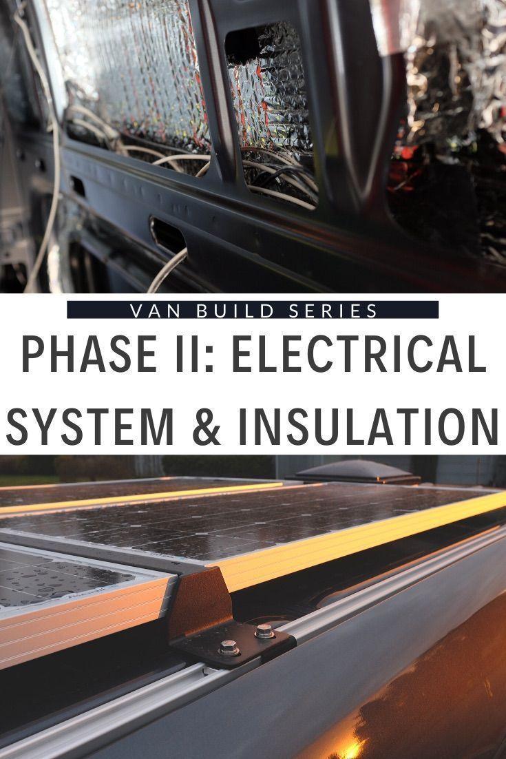 DIY Sprinter Solar Power and Insulation in 2020 ...