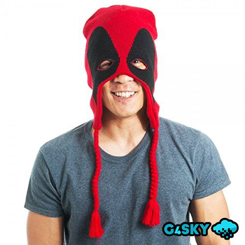 Шапка Marvel Deadpool Face | Deadpool | Pinterest