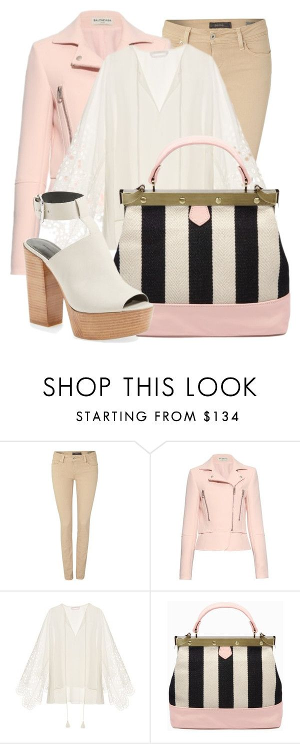 """"""""""" by meghanmorriss ❤ liked on Polyvore featuring Salsa, Balenciaga, Chloé and Rebecca Minkoff"""