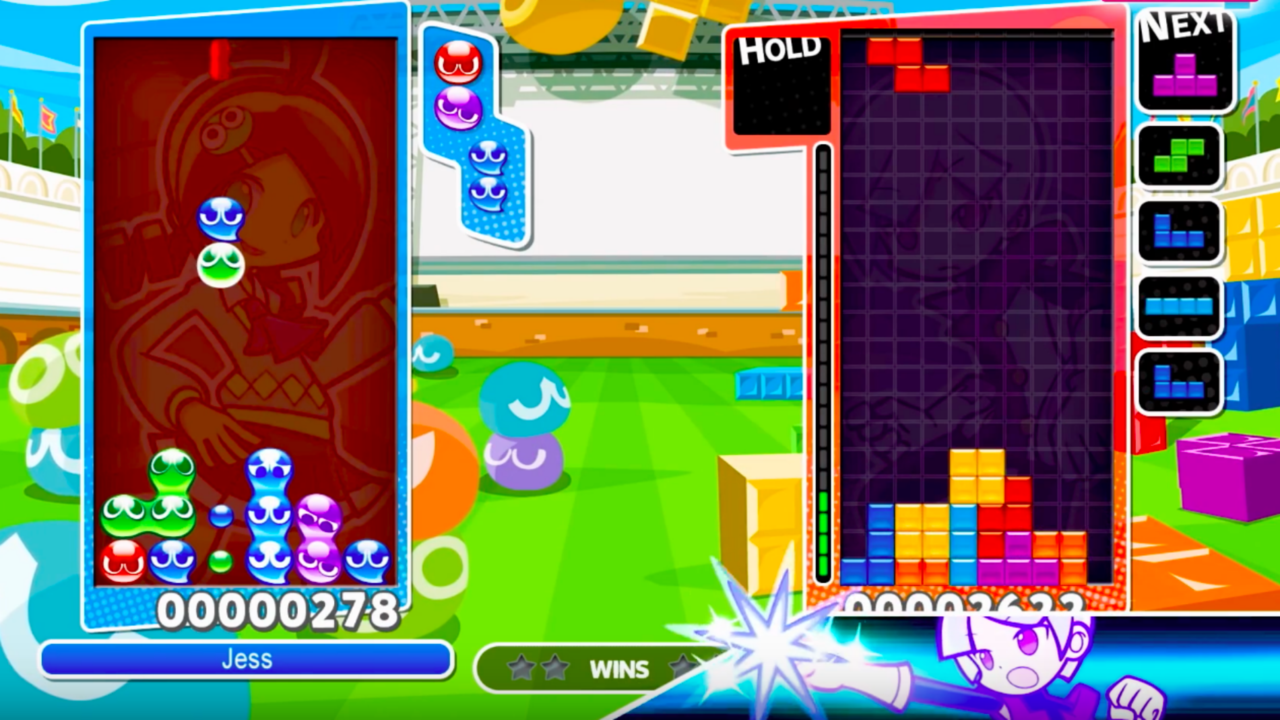 Puyo Puyo Tetris Official PC Trailer The puzzle game will