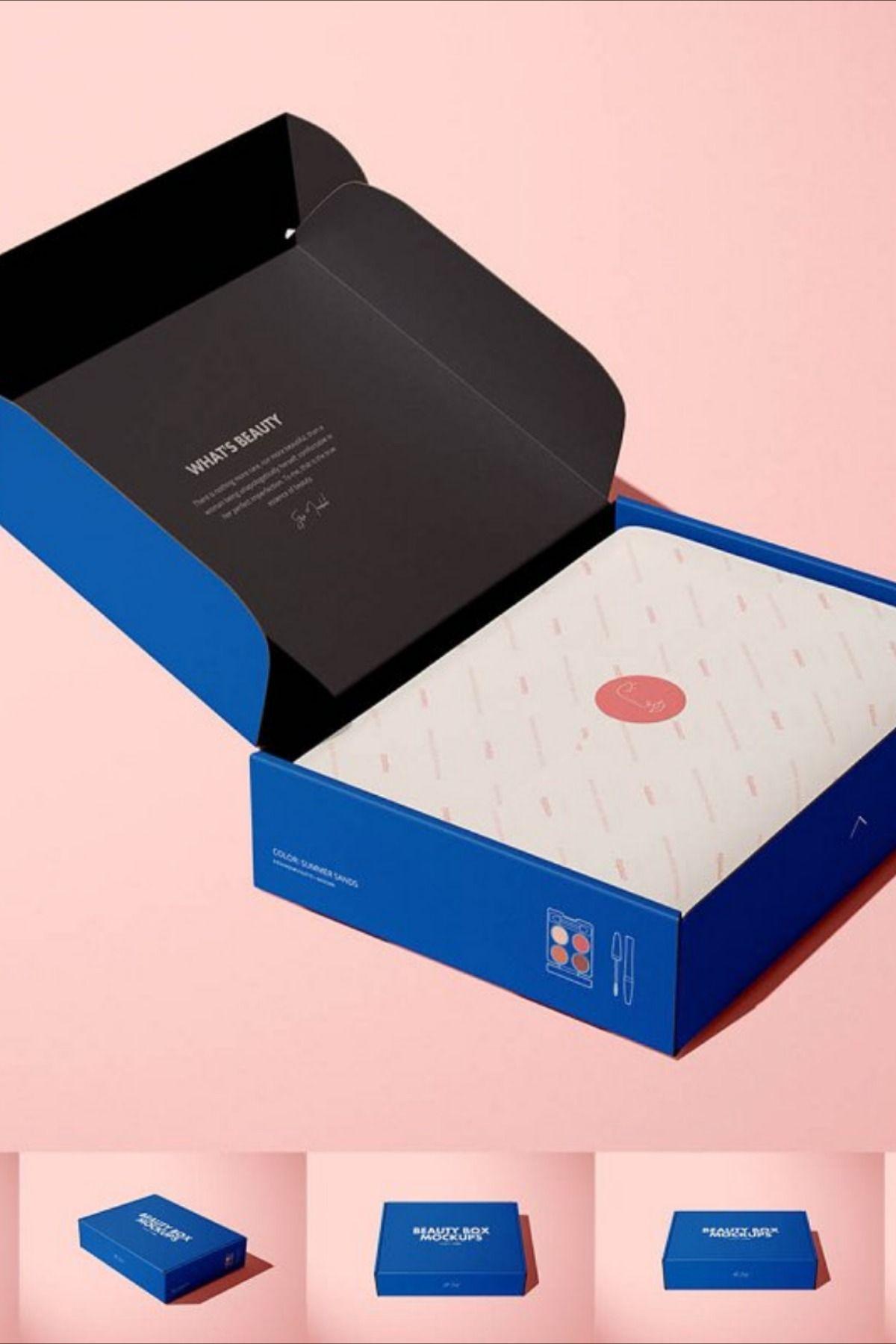Download Mailing Box 3 Mockup Set Box Template Mockup Paper Mockup