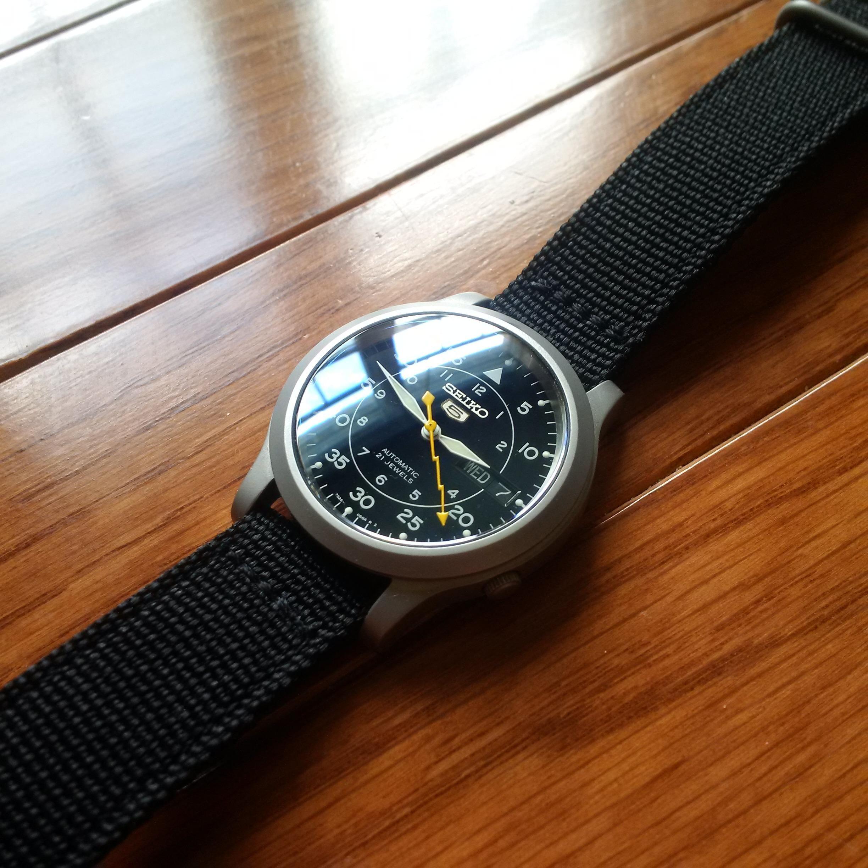 64fa5e452 Seiko] SNK809 Mod | Watches in 2019 | Seiko snk809, Seiko watches, Seiko