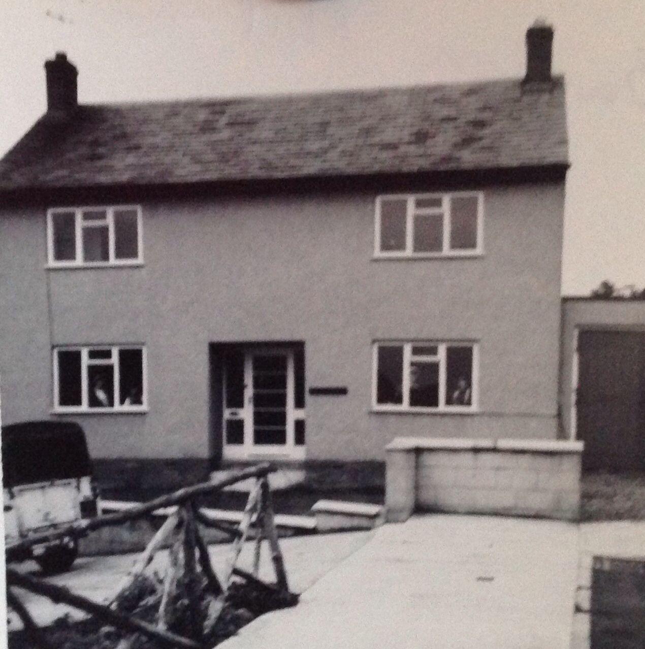 """Brackenridge"" Bardon Mill, Northumberland. 1960 - 1966"