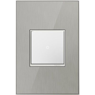 Lowes Wall Plates Beauteous Legrand Awm1G2M Adorne™ 1Gang Square Mirrored Wall Plate  *home