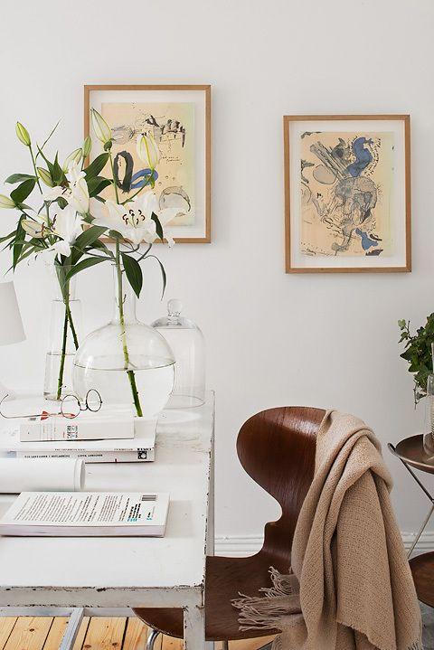 32 m² de blanco y cálido estilo nórdico