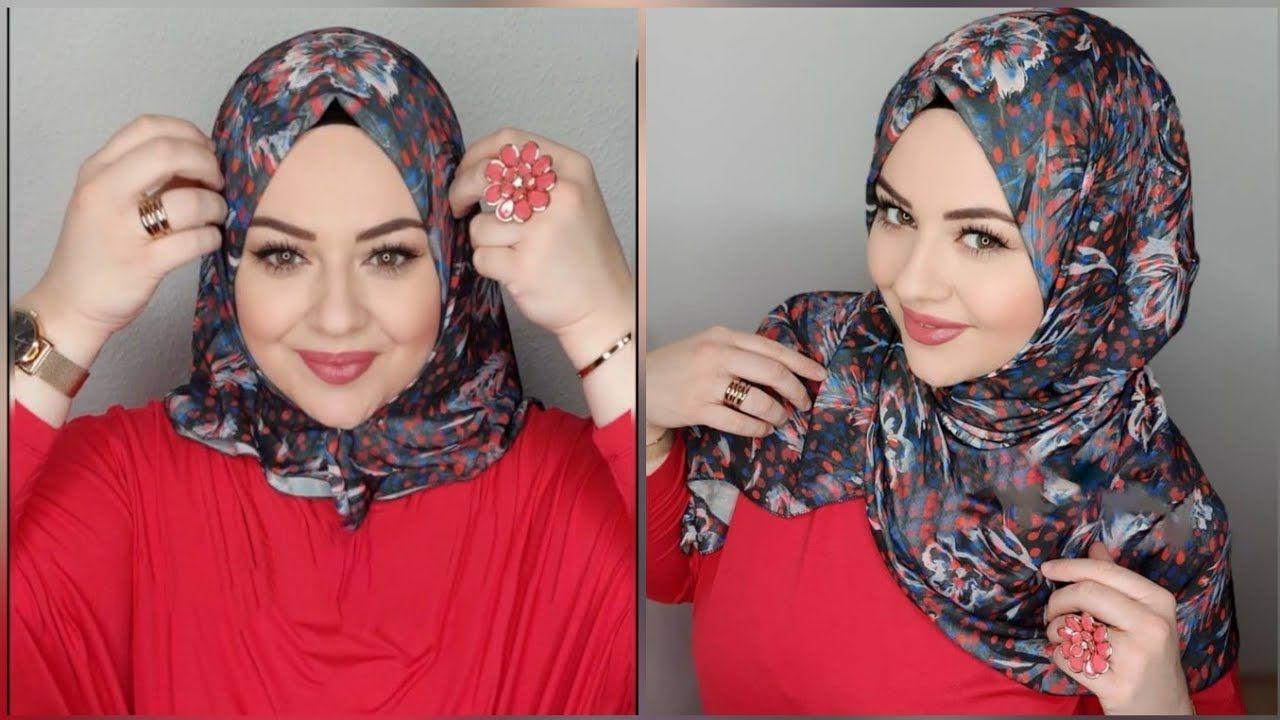 لفات حجاب تركي جديدة لفات طرح Turkish Tutorial Hijab Sal Esarp Baglama Hijab Tutorial Hijab Muslimah