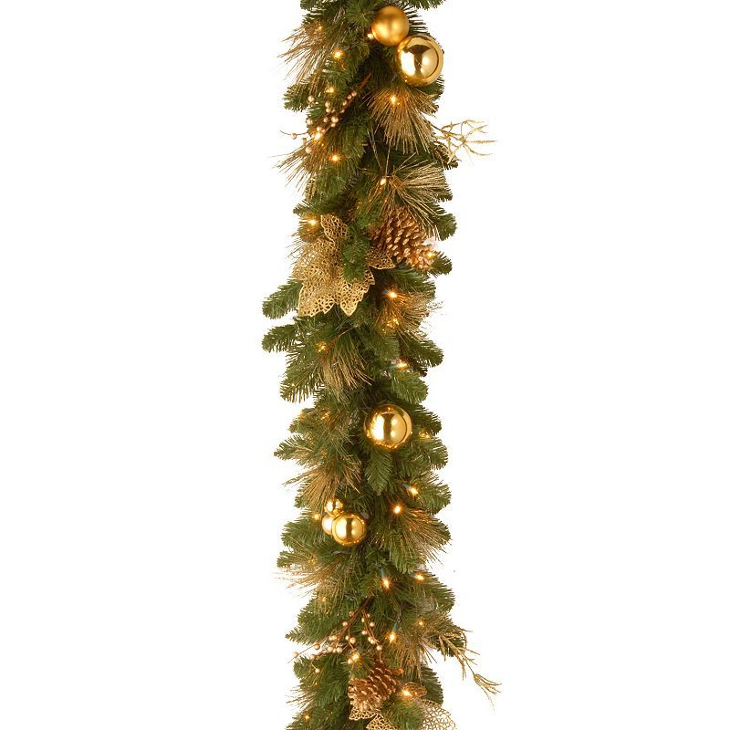 National Tree Company 6 ft. Artificial Elegance Garland, Green